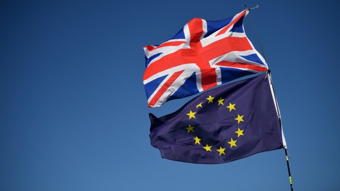 脫歐延期待歐盟同意 強生政府可能啟動重新大選  (圖:AFP)