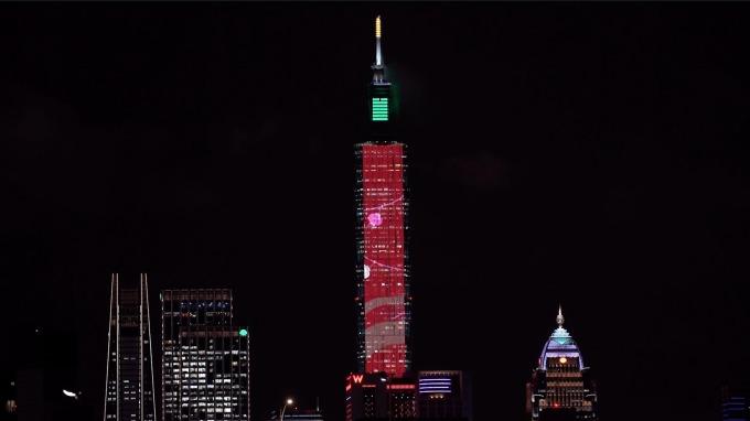 台北101煙火秀今年主秀將維持300秒長度。(圖:101提供)