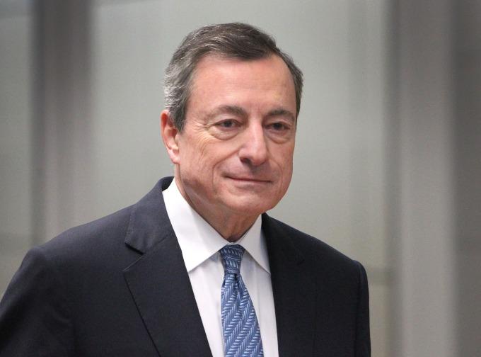 歐洲央行總裁德拉吉即將在本月底卸任,離開法蘭克福。(圖片:AFP)