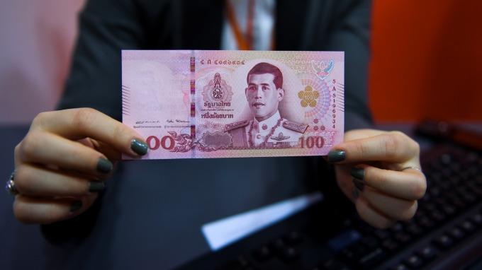 泰銖週五升至6年高點 但已見匯率過於高估疑慮(圖片:AFP)