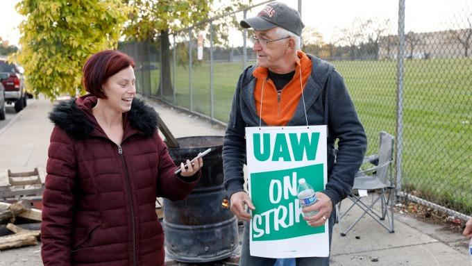 工會批准與GM簽署新合約 結束罷工 下個目標指向福特(圖:AFP)