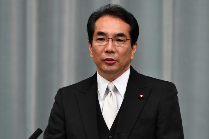 日本農林水產大臣江藤拓 (圖片:AFP)