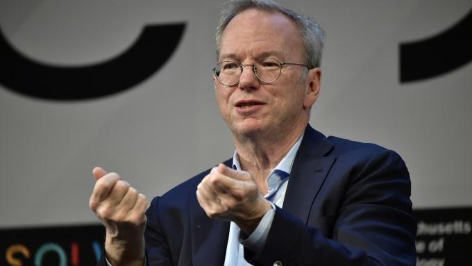 谷歌前CEO:美政府若限制中國技術人才 恐危害科技發展(圖片:AFP)