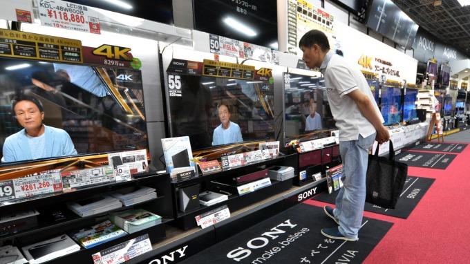 增稅前搶購!日本9月零售業銷售出現大幅成長 (圖片:AFP)