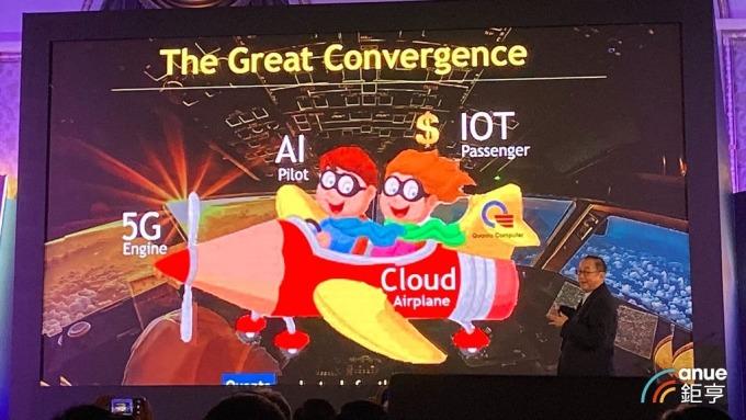〈林百里談未來科技〉妙喻未來科技像飛機 5G是引擎、AI是駕駛推動前進