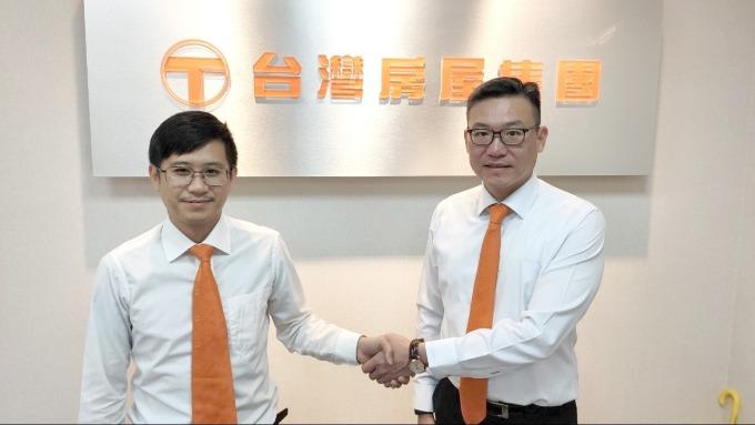 研鼎智能董事長簡博彬(右)。(圖:研鼎提供)