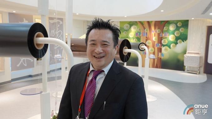 新揚科技總經理吳介宏。(鉅亨網記者張欽發攝)