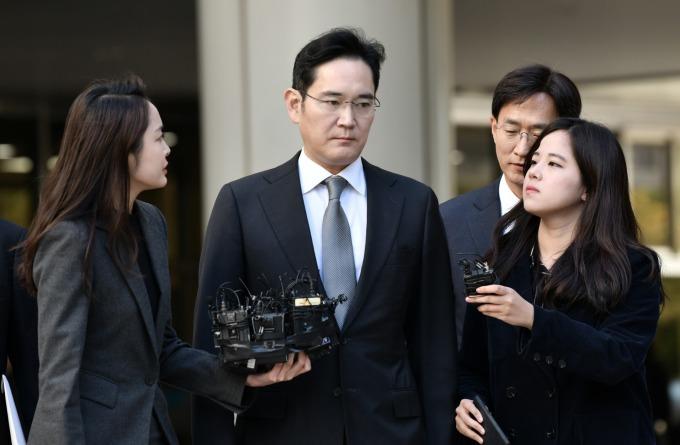 三星集團少東李在鎔 (圖片:AFP)
