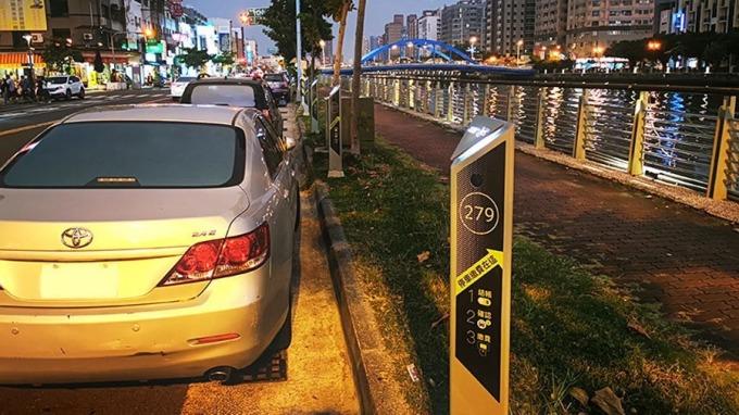 攜手宏碁智通,台南市智慧路邊停車計費路段再擴大。(圖:宏碁智通提供)
