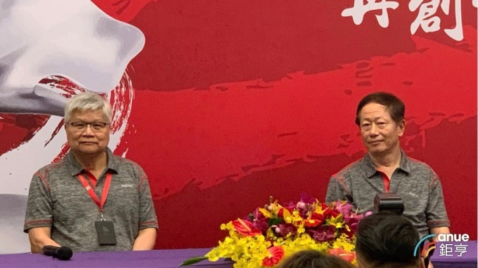 左起為台積電總裁魏哲家、董事長劉德音。(鉅亨網資料照)