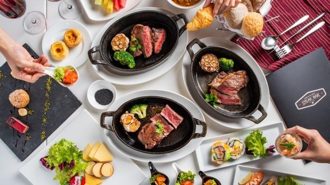 六福線上旅展強打敘日餐廳餐券。(圖:六福提供)
