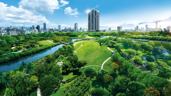 「樹禾苑」擁有中都溼地生態公園景觀最佳的地段條件。(鉅亨網資料庫)