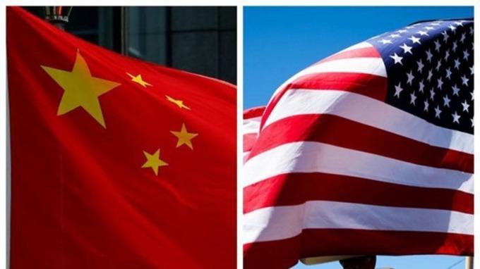 中國自由貿易 VS. 美國優先 (圖片: AFP)