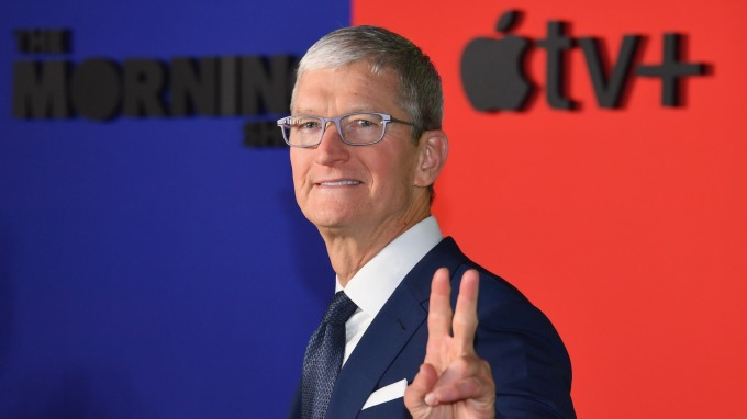 蘋果和其他大企業 正開始揮霍巨額現金部位(圖:AFP)