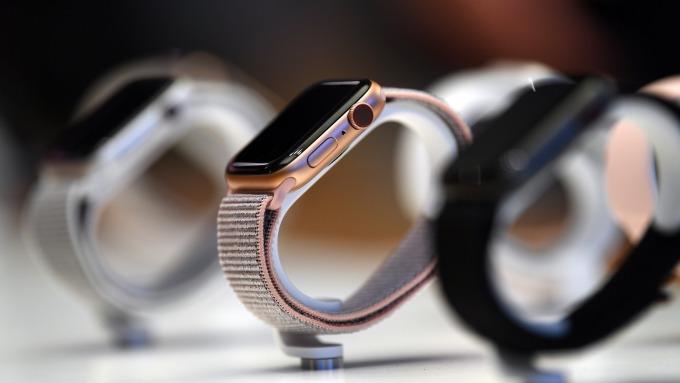 Q3全球智慧型手錶出貨年增42% 蘋果穩坐第一  (圖片:AFP)