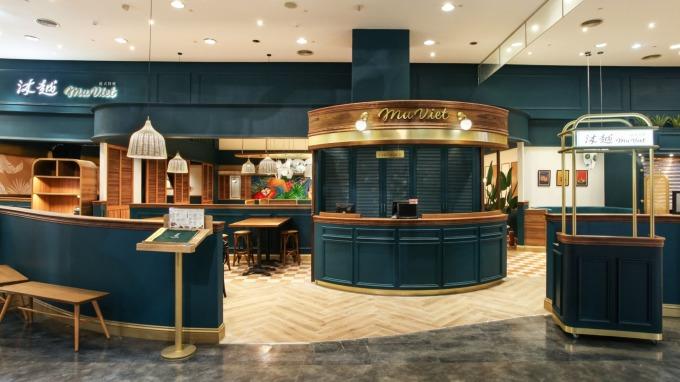 王品「沐越」在桃園台茂購物中心開出首家商場店。(圖:王品提供)