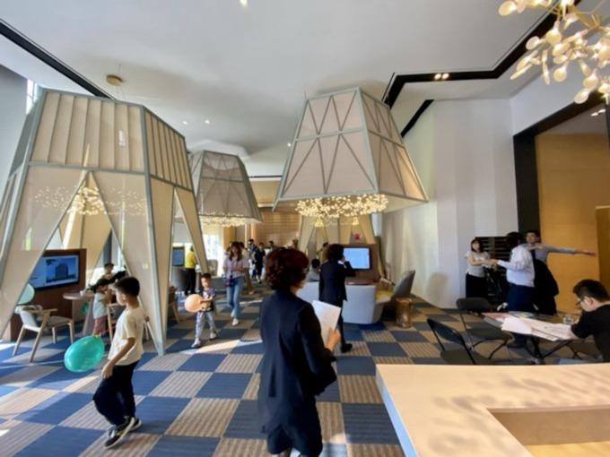 小檜溪重劃區第一件推出銷售的預售案「檜樂集」潛銷期間吸引 300 多組客戶。(圖 / 鉅亨網資料照)