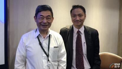 左為致新總經理吳錦川、右為代理發言人唐漢光。(鉅亨網記者魏志豪攝)