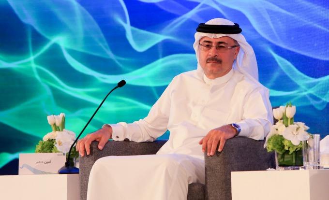 沙特阿美總裁兼 CEO Amin Nasser。(圖:AFP)