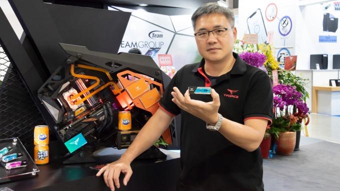 十銓科技總經理陳慶文。(圖:十銓提供)