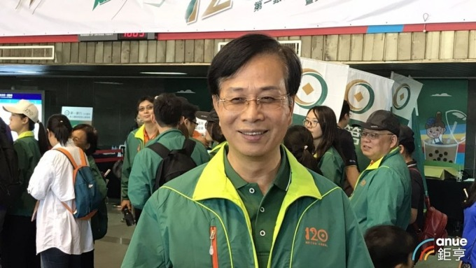 一銀董事長廖燦昌。(鉅亨網資料照)