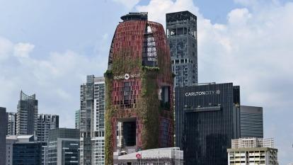 PwC亞太房地產趨勢報告:新加坡投資前景居首 台北名列第14(圖片:AFP)