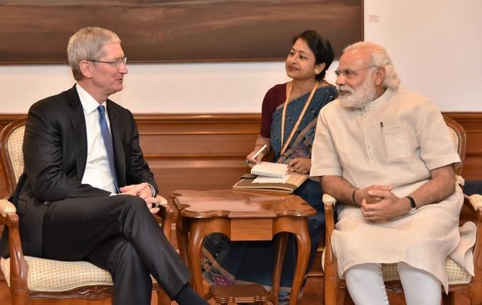 印度總理莫迪 (右) 希望吸引外資 (圖片: AFP)