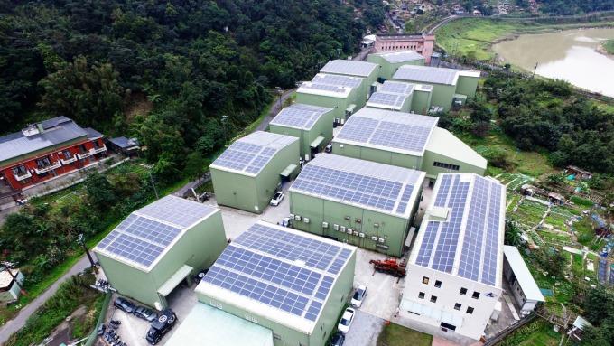 大同旗下尚新能源,標得新北太陽光電屋頂設置聯合標租案。(圖:新北市政府提供)