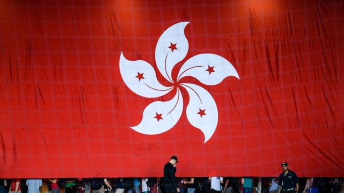香港經濟前景 外資首重美中貿易與社運問題 (圖片:AFP)