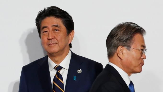 GSOMIA到期日逼近 日韓兩國就相關問題進行意見交換 (圖片:AFP)