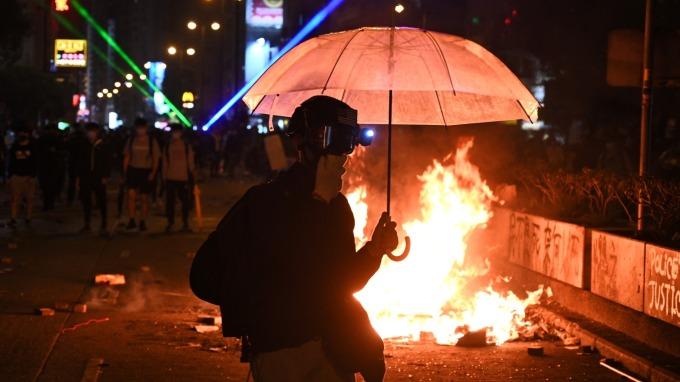 新加坡貿工部長警告:香港局勢已至臨界點  (圖片:AFP)
