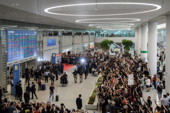 仁川國際機場 (圖片:AFP)