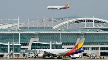 仁川機場第四階段工程動工 全年服務人次將擠進全球前三名 (圖片:AFP)