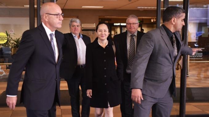 華為向加拿大法院申請終止引渡孟晚舟 稱違背雙重犯罪原則(圖片:AFP)