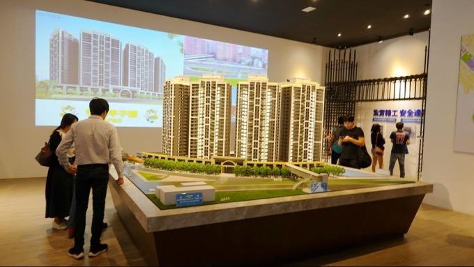 北台灣重劃區住宅推案勁揚,林口A7供給量高達6000戶。(鉅亨網記者張欽發攝)
