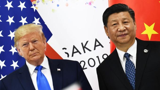 習近平:貿易戰不想打 但也不怕打  (圖片:AFP)