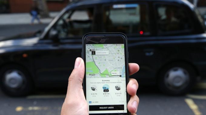 Uber自IPO以來 下滑逾30% 華爾街喊買(圖片:AFP)