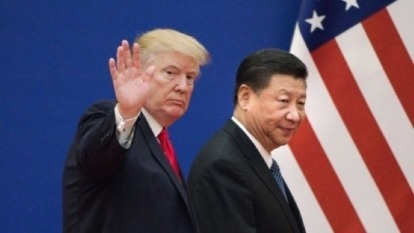 經濟學家 :全球經濟衰退關鍵將是美中貿易戰 而非中國成長趨緩 圖片:AFP