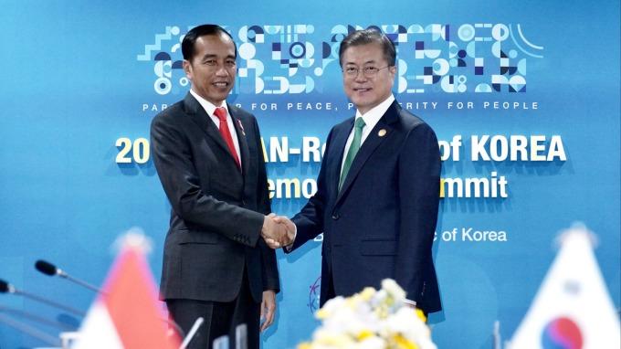 南韓、印尼宣布簽署經濟夥伴協定 取消鋼鐵、汽車和啤酒等關稅 (圖:AFP)