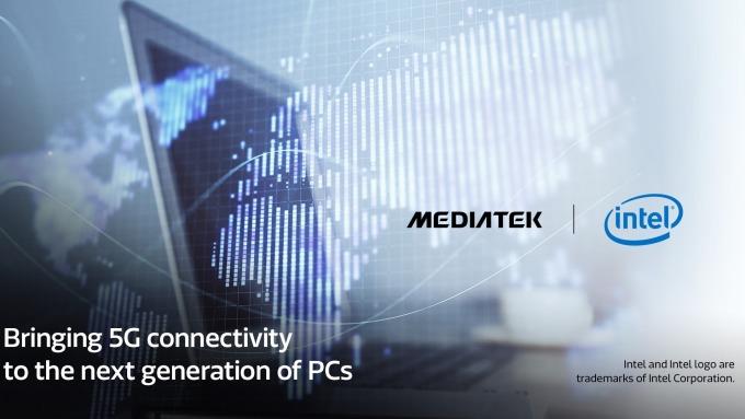 聯發科攜手英特爾 首度使用5G晶片搶攻全球電腦市場。(圖:聯發科提供)