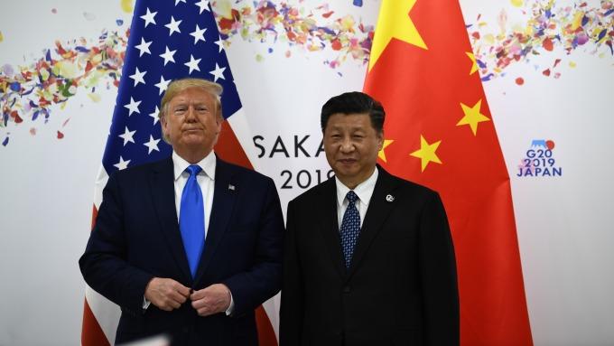 川普聲援香港!美中協議接近尾聲 「處於最後陣痛中」(圖片:AFP)