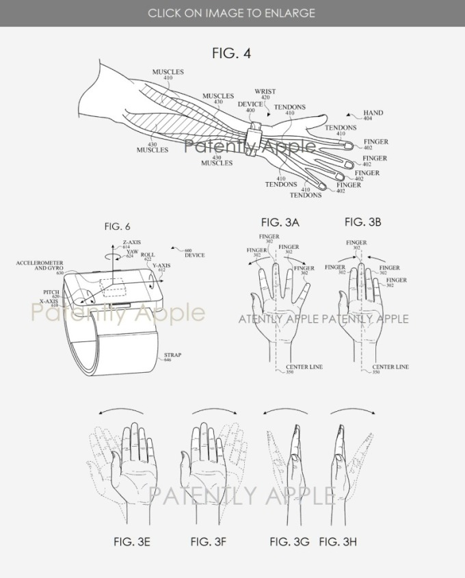 蘋果專利示意圖 (圖片: patentlyapple.com)
