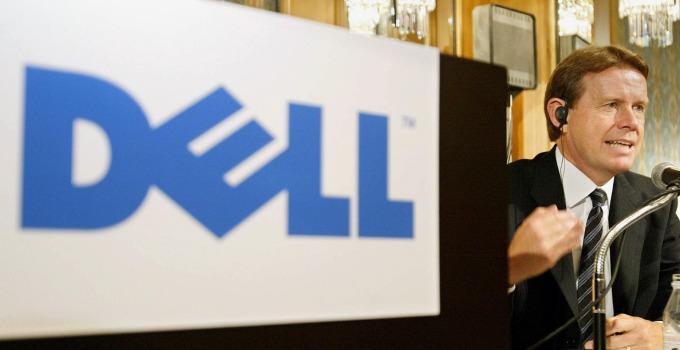戴爾指出英特爾尚未透露 CPU 短缺情形,他們無法預估虧損情況 (圖片: AFP)
