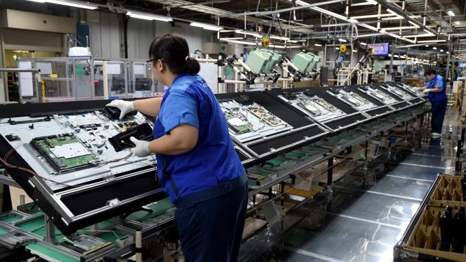 11月面板價格止跌,面板產業明年Q1可望提早復甦。(圖:AFP)