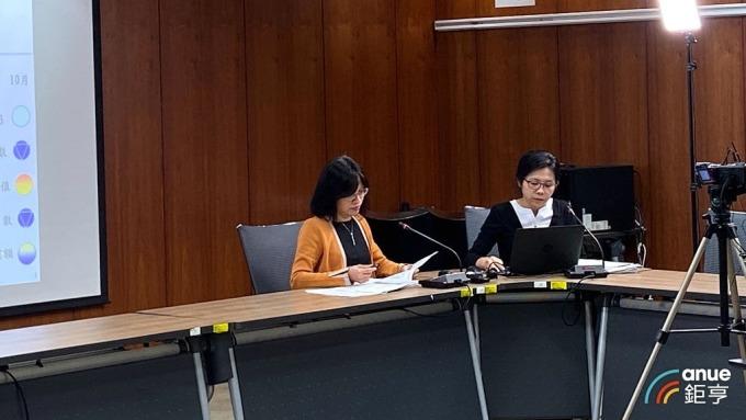 國發會經濟發展處處長吳明蕙(左)、科長利秀蘭(右)。(鉅亨網記者劉韋廷攝)