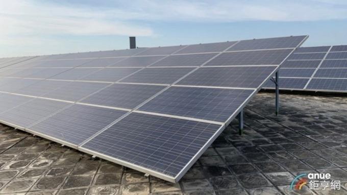 頂樓設太陽光電踴躍 北市近5年減碳32座大安森林公園。(鉅亨網資料照)