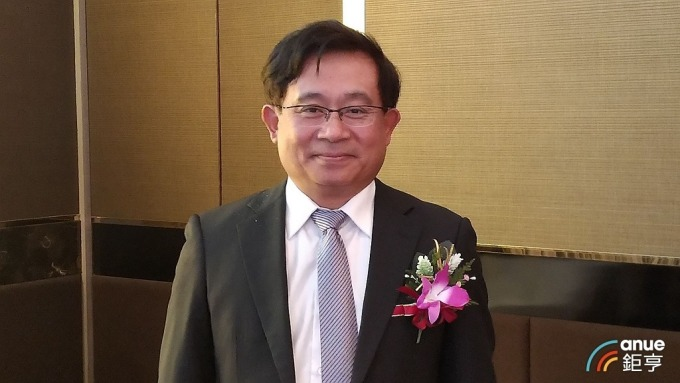 信驊董事長林鴻明。(鉅亨網記者彭昱文攝)