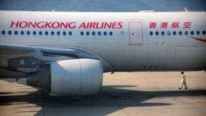 香港抗爭活動拖累:香港航空成境內首家延遲支薪的航空公司 圖片:AFP