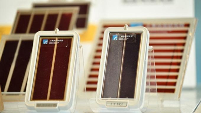 工研院推5項太陽能解決方案 促再生能源發展。(圖為染料敏化電池技術/工研院提供)