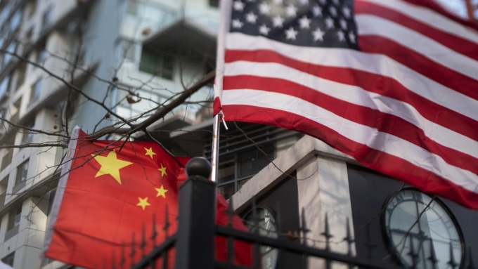 環時:中國很快將釋出「不可靠實體清單」。(圖片:AFP)